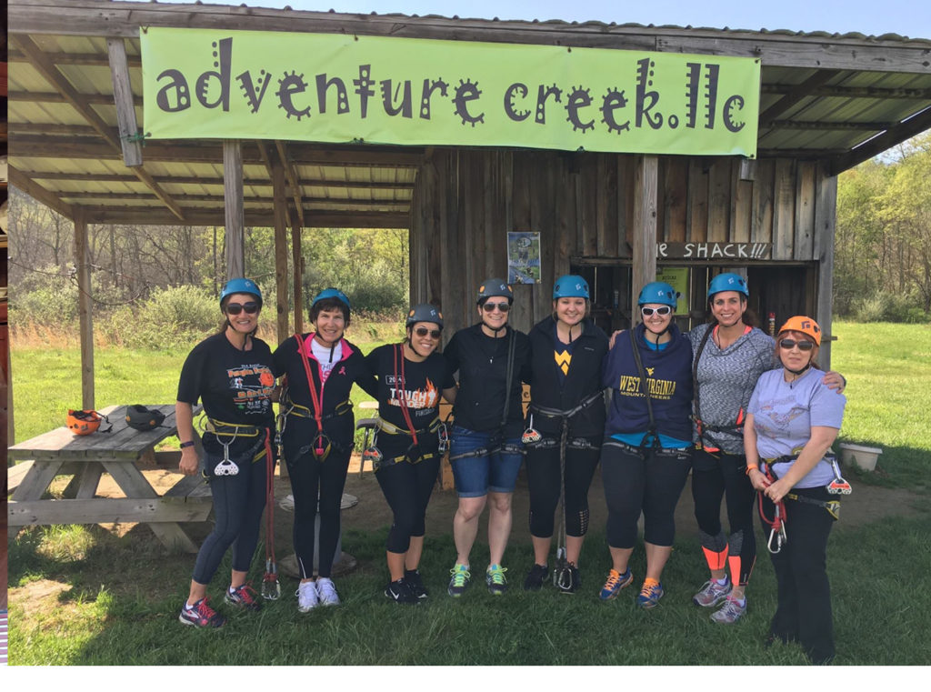 Adventure Creek women's group