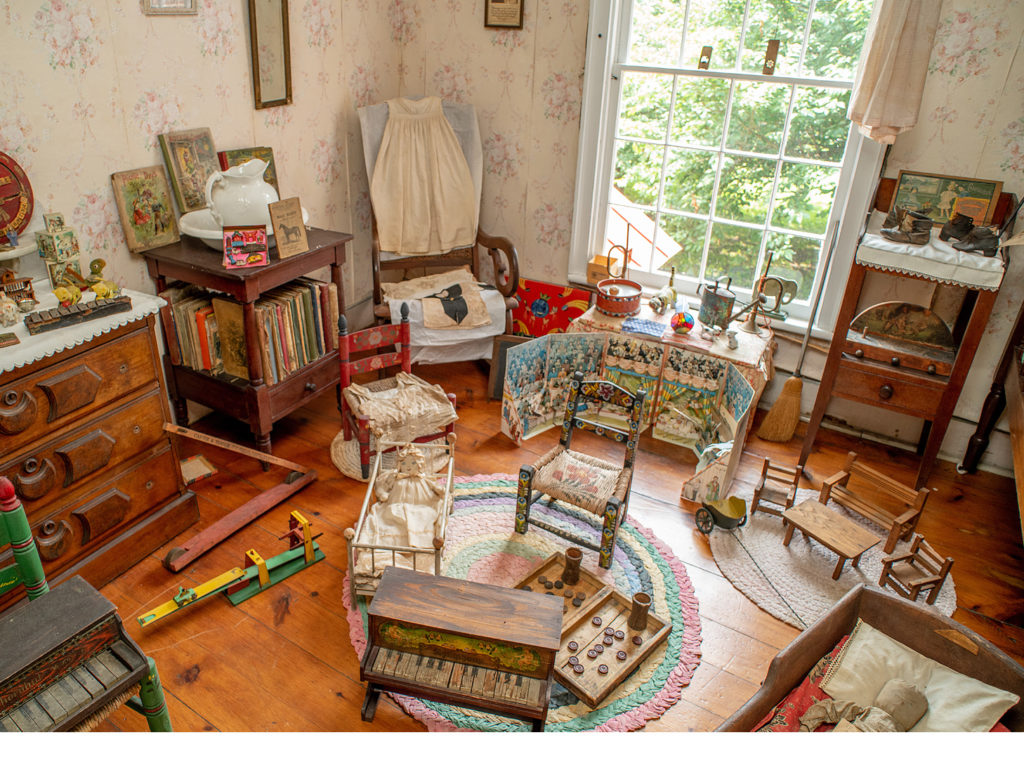 Antique playroom